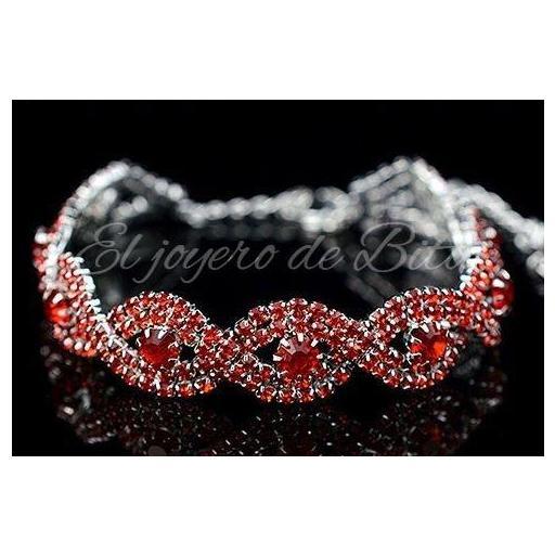 Pulsera Crystal Red