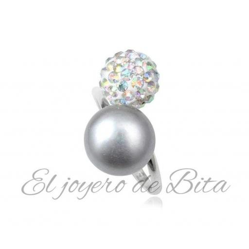 Anillo Silver Pearl [1]