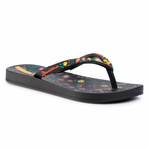 Chanclas Ipanema Anatomic Lovely III Kids. 82864. Black/yellow. 20566