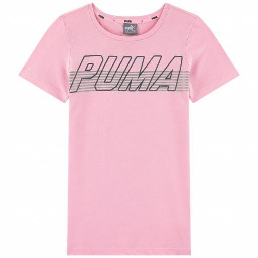 Camiseta Puma Alpha L logo tee 854244