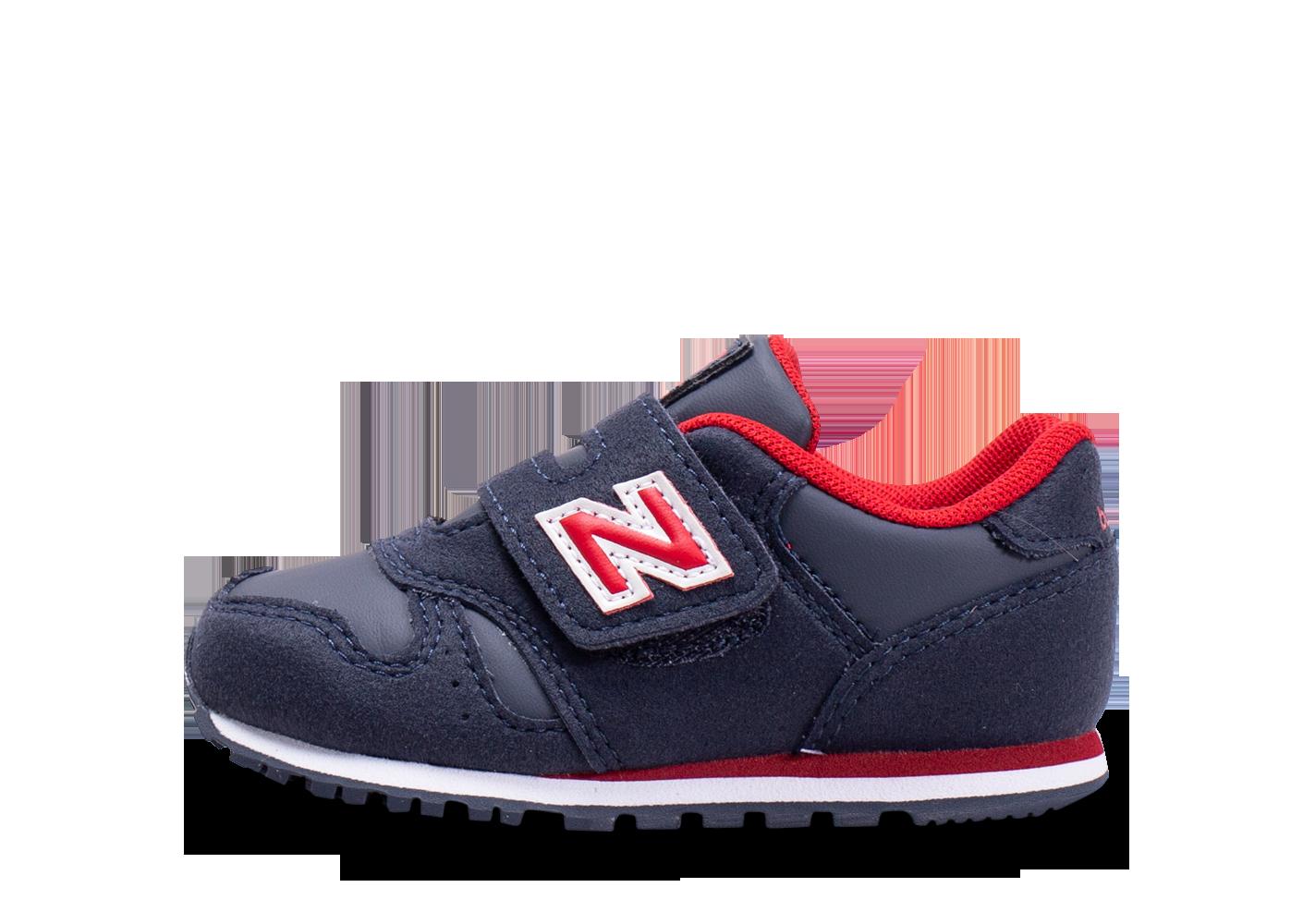 Zapatilla Niño New Balance IV373CA. Marino/Rojo
