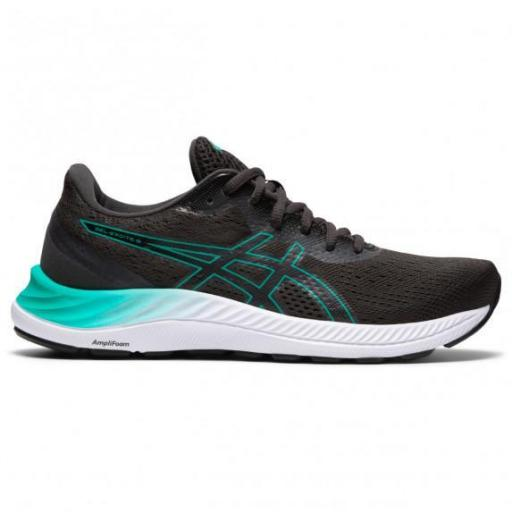 Asics Gel-Excite 8 Women. Black/Baltic Jewel. 1012A916-005
