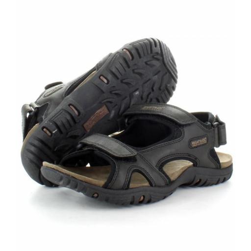 Sandalia montaña Regatta Haris. RMF331. Black [1]