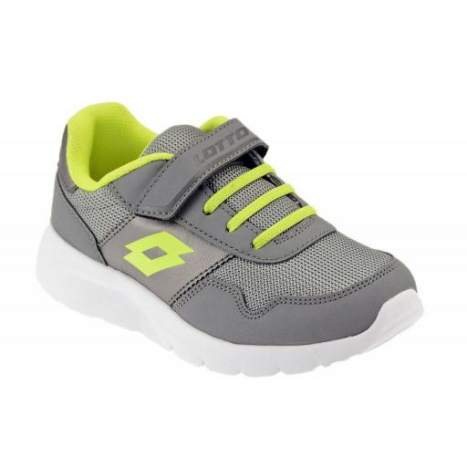 Zapatilla Lotto Junior Megalight Ultra II CL SL. 210684 frost gray.