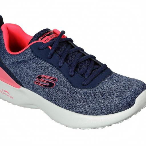 Skechers Skech-Air Dynamight. 149340/NVCL. Navy-coral. [2]