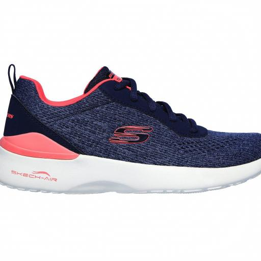 Skechers Skech-Air Dynamight. 149340/NVCL. Navy-coral.