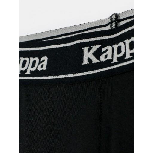 Kappa Leggins Authentic Yael. 304PNJ0. Black.  [3]