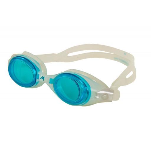 Gafas Natación Adulto Mosconi Compact Fit. 200.64 Colores: Negro, Azul, Verde.