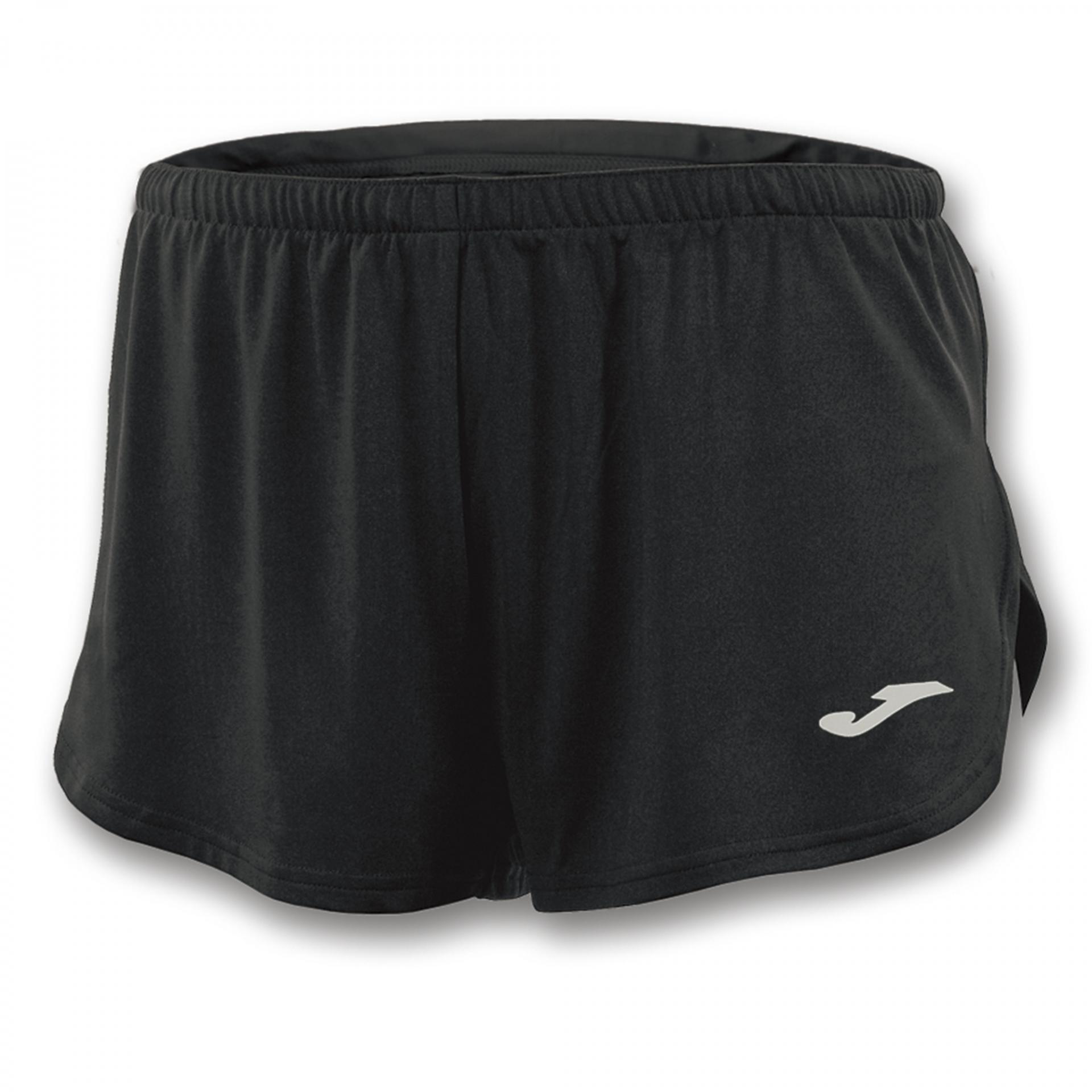 Pantalón corto Running Hombre Joma Short Record. 100091.100 Black.