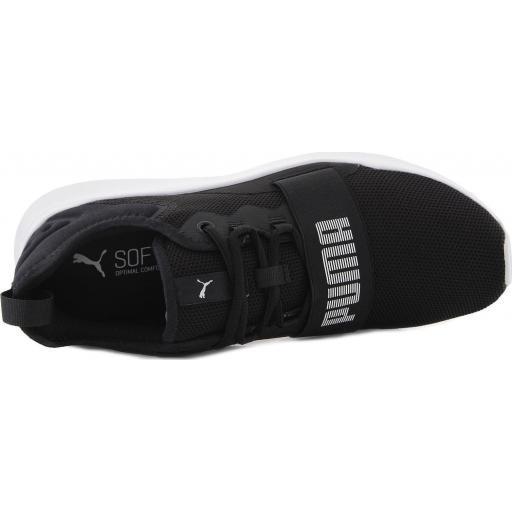 Zapatilla Casual hombre Puma Wired Pro. 369126 01. Black/white.  [3]