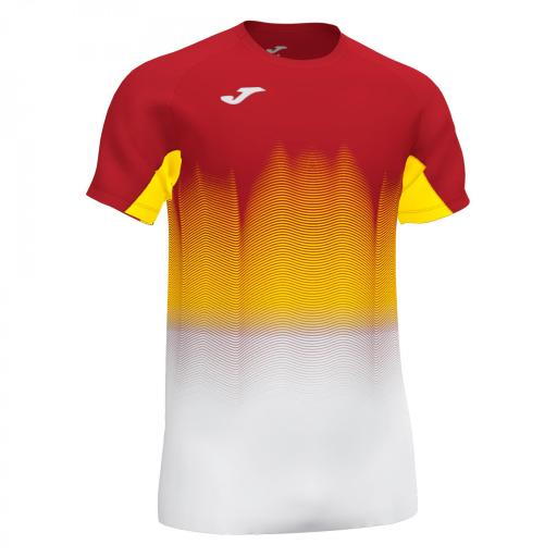 Camiseta Hombre Joma Elite VII. Red/white/yellow. 101519.602
