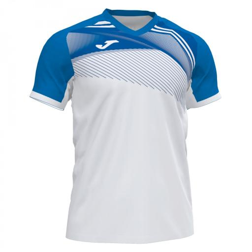 Camiseta Hombre Joma Supernova II. White-royal. 101604.207