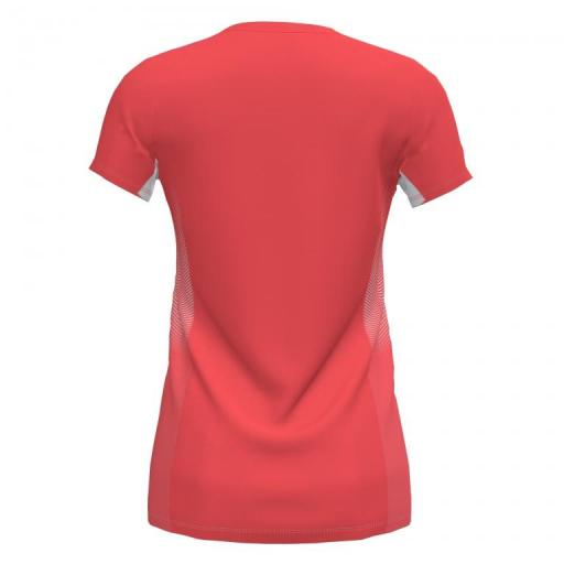 Camiseta Running Mujer Joma Elite VII. 901020.040 Flúor Coral-white.  [1]