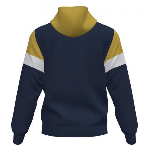 Joma Crew IV Hoodie Junior. Dark Navy-mustard. 101544.325 [1]