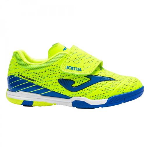 Zapatillas JOMA XPANDER JR 2109 amarillo fluor- royal indoor