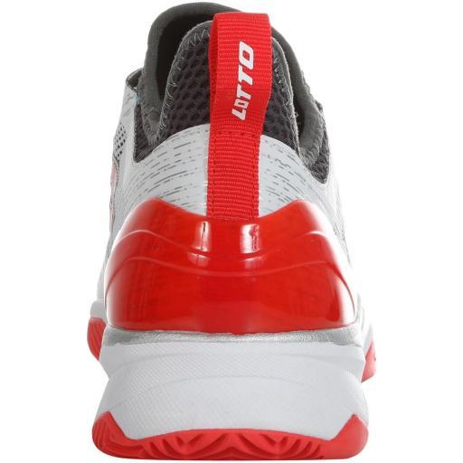 Zapatillas Pádel LOTTO MIRAGE 200 CLY. 213626. White/red [2]