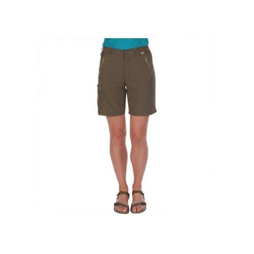 Pantalón Corto Trekking Regatta Chaska. RWJ165. Bright Blush [2]