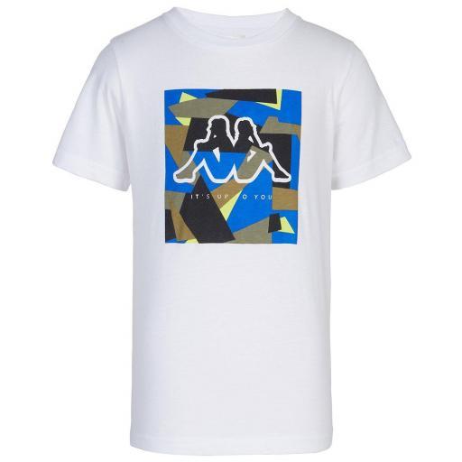 Camiseta kappa CATED 37124XW