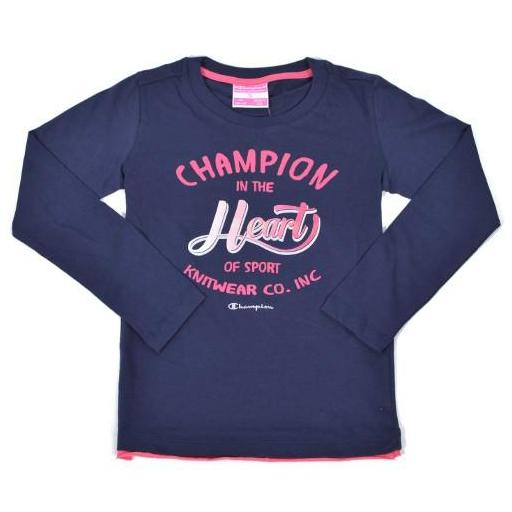 CHAMPION Camiseta manga larga , Niña . 403017 .