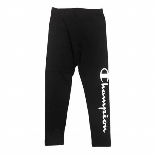 Champion Legacy Leggings Niña. 403954 KK001. Black.