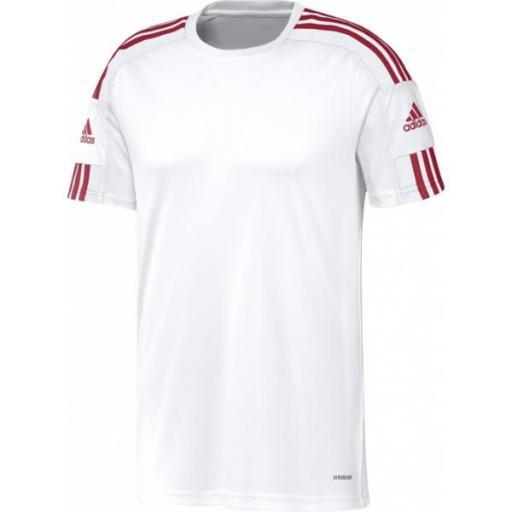 Adidas Squadra 21 JSY. blanca. GN5725
