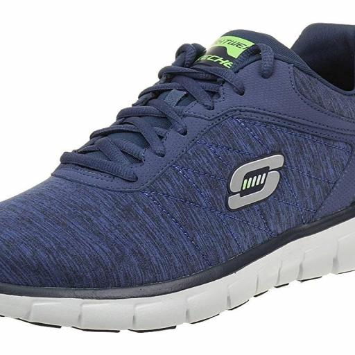 ZAPATILLA DEPORTIVA HOMBRE SKECHERS SYNERGY-INSTANT REACTION. MOMORY FOAM