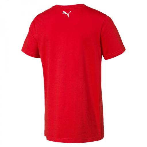 Camiseta Niño Puma Alpha Graphic Tee para niños. High Risk Red. 854386  [1]