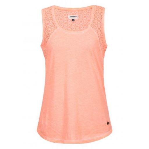 Camiseta Tirantes Icepeak Mimi. Rosa.