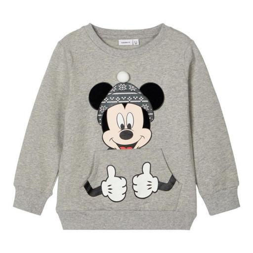 Sudadera Name it MICKEY Gris Mini Niño. 13184691