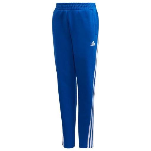 Adidas B 3S Tapered P. Pantalón Niños Azul/blanco. GE0669