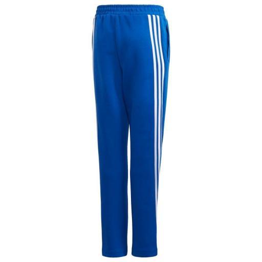 Adidas B 3S Tapered P. Pantalón Niños Azul/blanco. GE0669 [1]