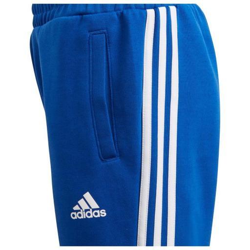 Adidas B 3S Tapered P. Pantalón Niños Azul/blanco. GE0669 [2]