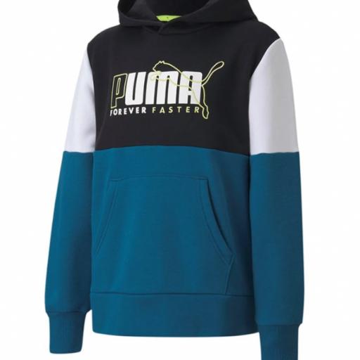 Sudadera Puma Alpha Hoodie infantil 583195