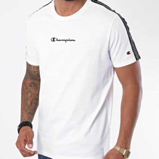 Camiseta Champion bandas 215315