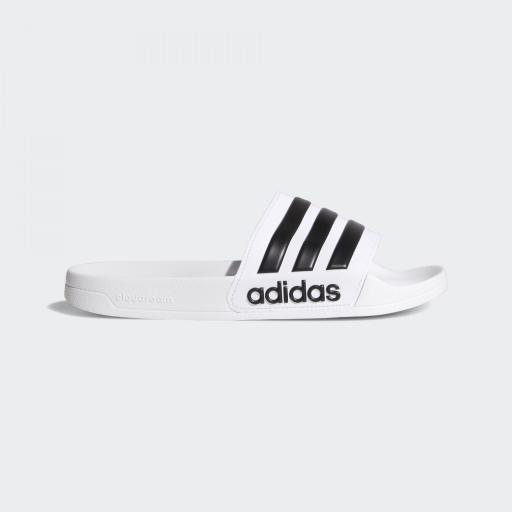 Chanclas ADIDAS  ADILETTE SHOWER color blanco Ref AQ1702