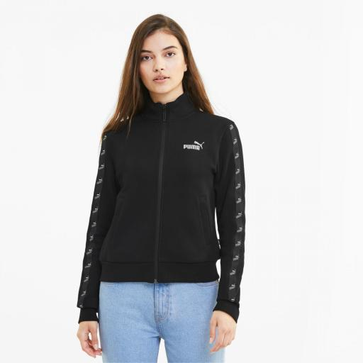 Puma Amplified Track Jacket. 583622 01. Black