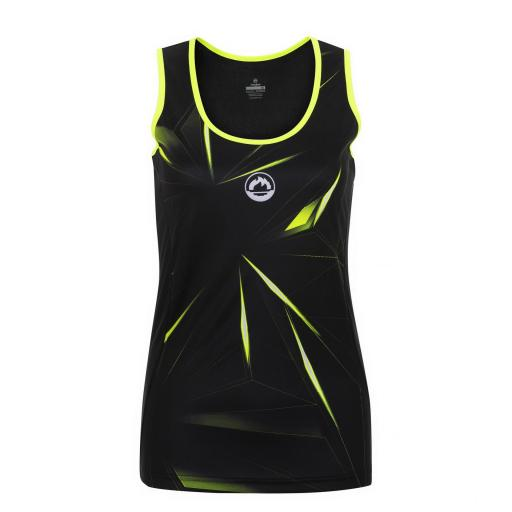 Camiseta Técnica Tirantes J´hayber DS3197 Black/yellow.
