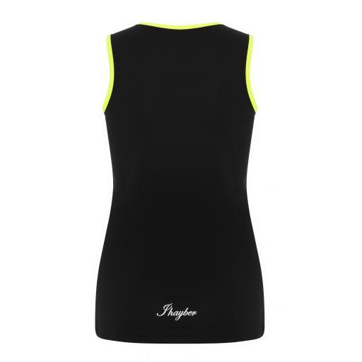 Camiseta Técnica Tirantes J´hayber DS3197 Black/yellow. [1]