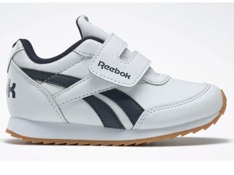 Reebok Royal CLJOG 2 KC Infants. DV9462 White/collegiate navy.