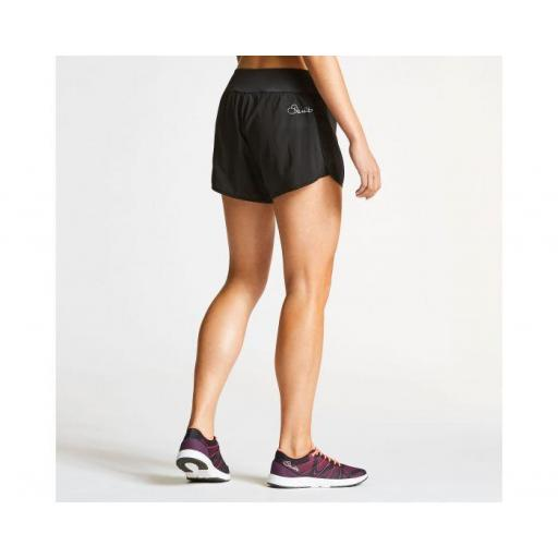 Pantalón corto Mujer dos capas . DARE2B ENCLOSE SHORT. DWJ383 . Black [3]