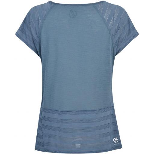 Dare 2b Efficiency - Camiseta Manga Corta Mujer - Gris  [1]