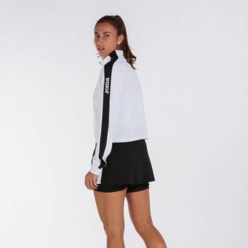 Joma Torneo Full zip SweatShirt White/black. 901223.201 [2]