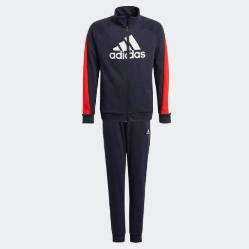 Adidas Conjunto B BOS COT TS. GM8916. Navy/red/black.