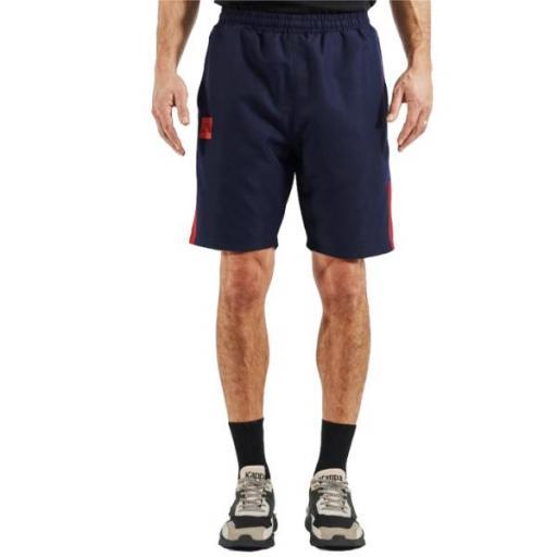 KAPPA IVIANI. 311B32W. Navy/red. Pantalón corto.