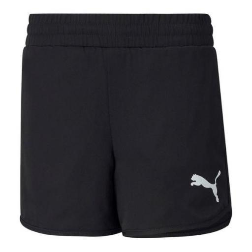 PUMA Active Shorts. Black. 587008 01.