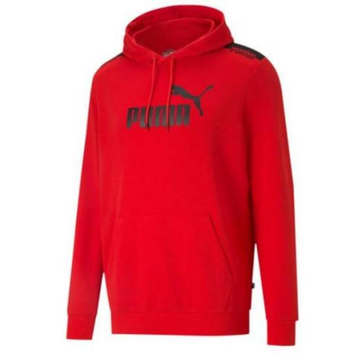 PUMA AMPLIFIED Hoodie High Risk Red. 585783 11.