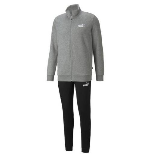PUMA Clean Sweat Suit. 585841 03. Medium grey.
