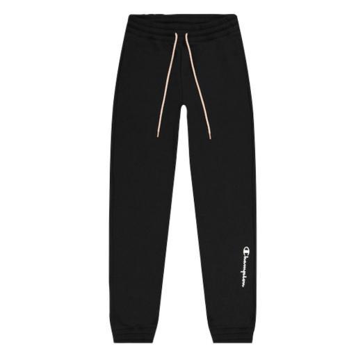 Pantalón sportwear CHAMPION Rib Cuff Pants. 114411 KK001. Negro