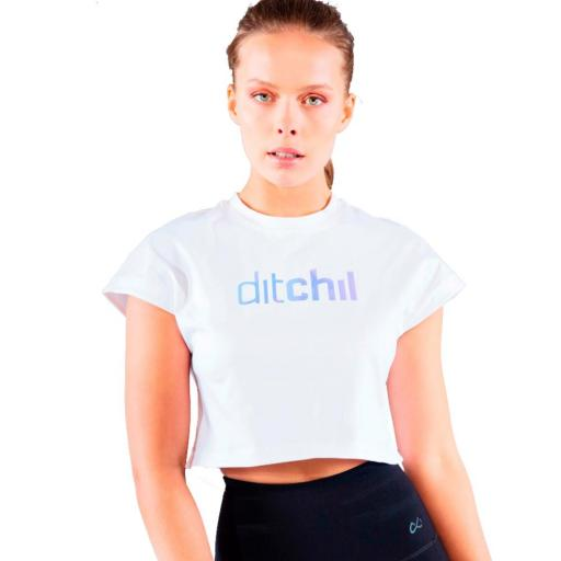 DITCHIL JUST T-SHIRT. TS00833-208. White