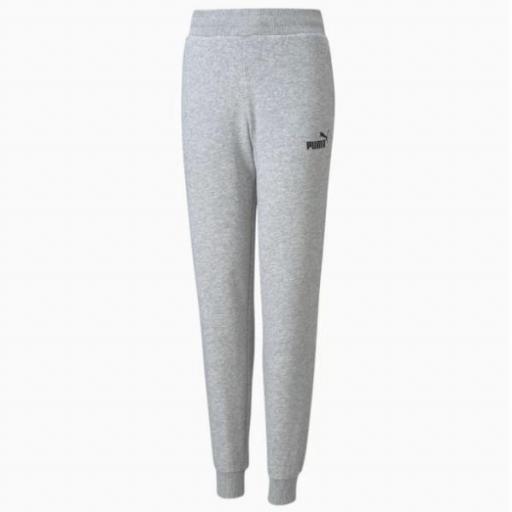PUMA Essentials Sweatpants. Gray Heather. 587038 04.